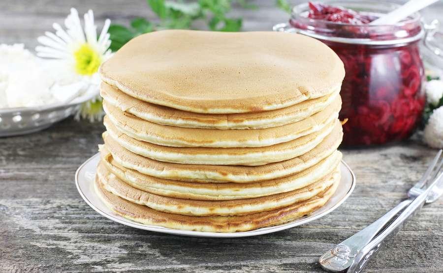 Pancakes śniadaniowe