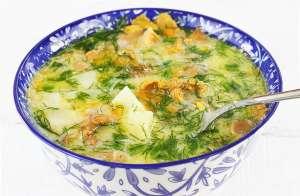 Zupa kurkowa z koperkiem