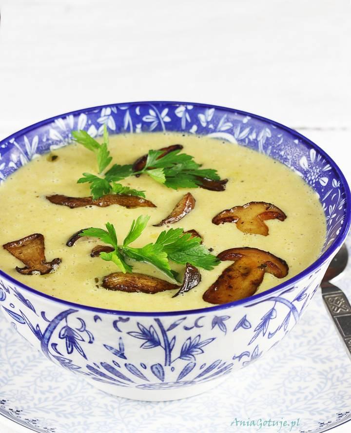 Zupa krem grzybowa, 1