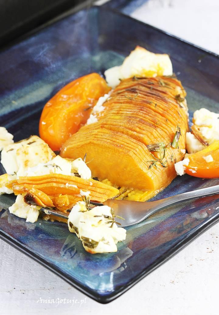 Ziemniaki słodkie Hasselback , 2