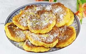 Mini pancakes dyniowe