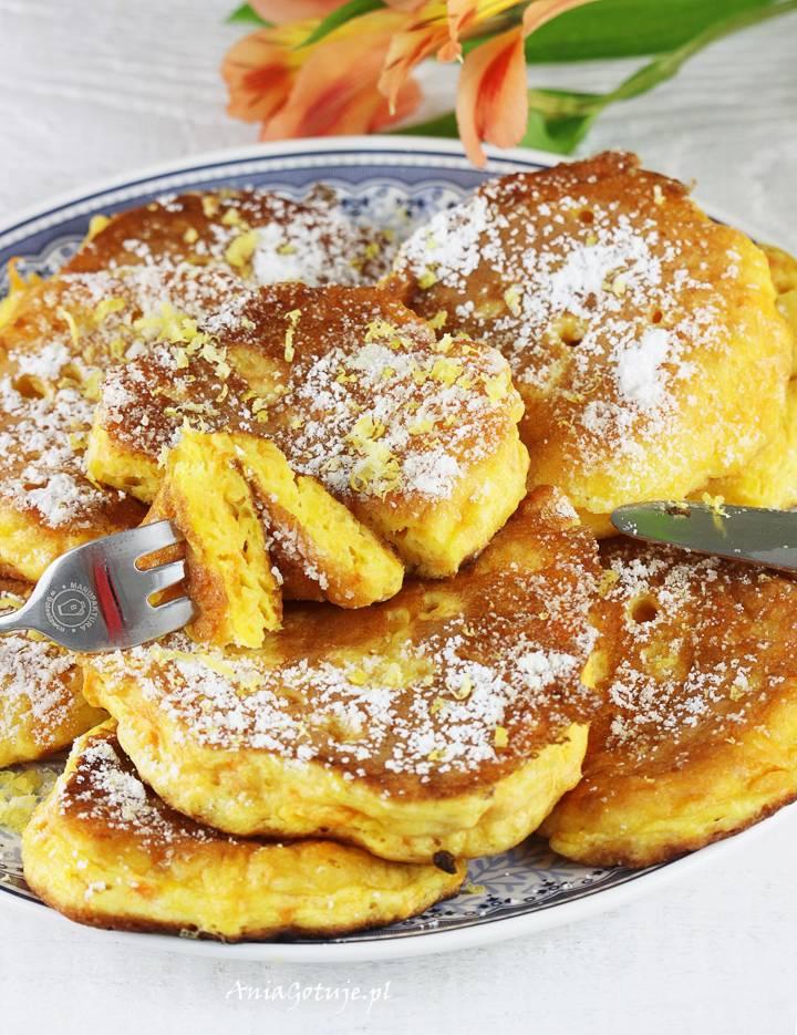 Mini pancakes dyniowe, 2