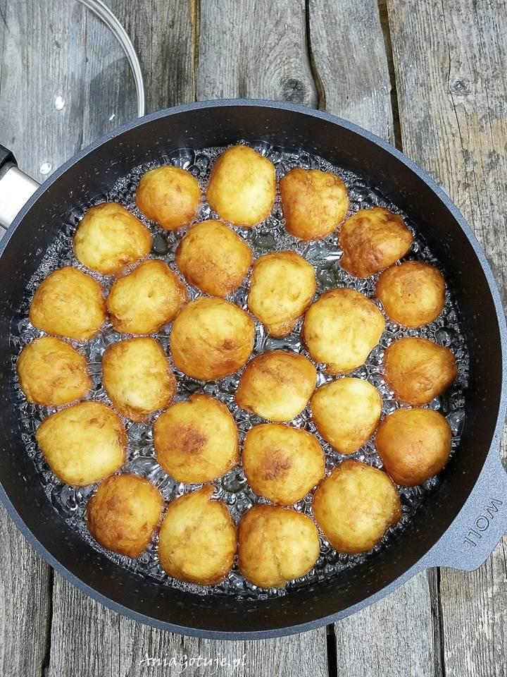 Mini pączki serowe, 1