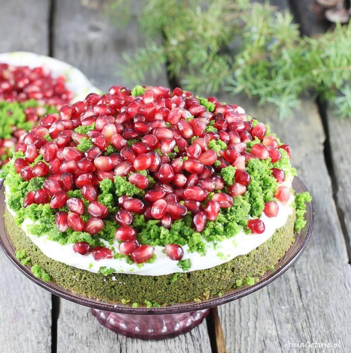 Ciasto leśny mech, 2