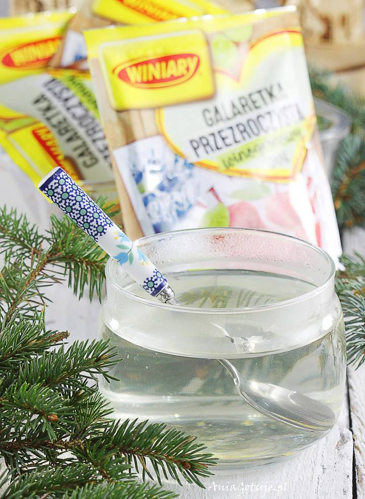 Zimowy sernik na zimno z cytrusami, 1