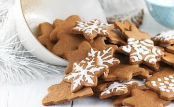 Pierniczki świąteczne z miodem