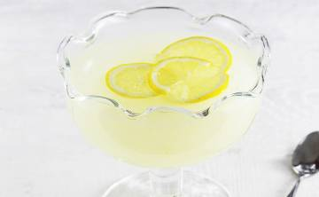 Domowy kisiel cytrynowy