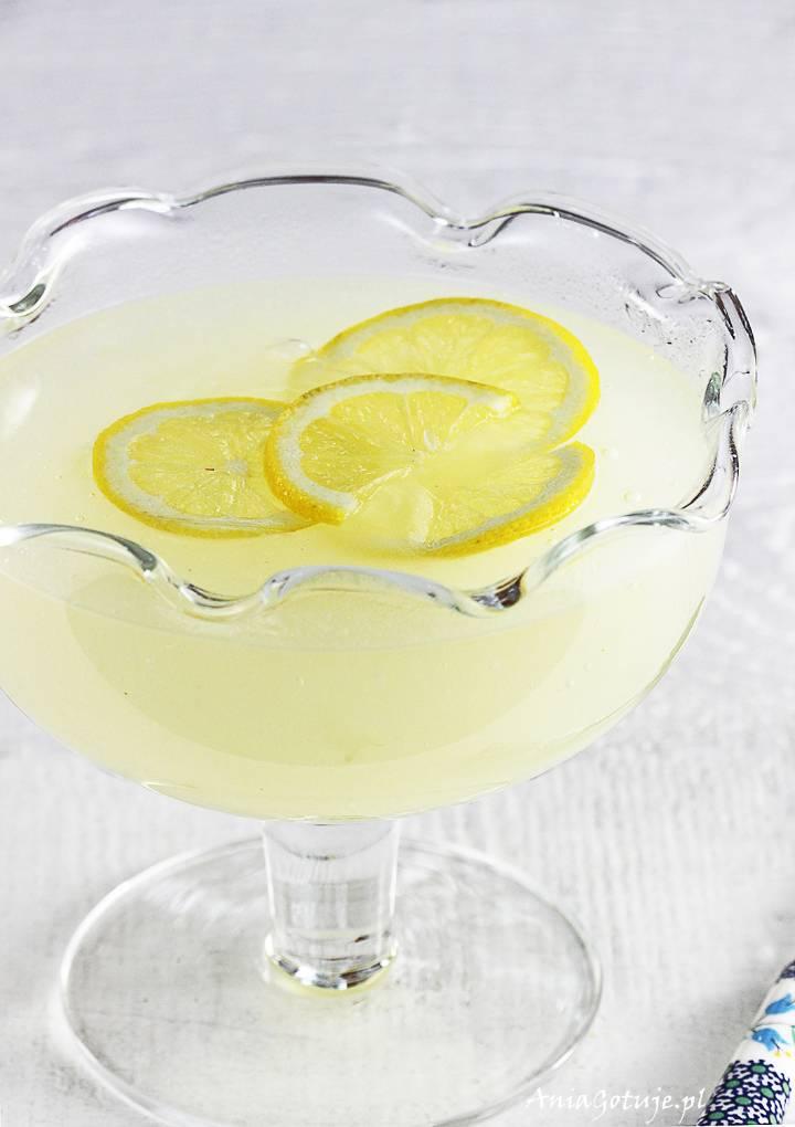 Domowy kisiel cytrynowy, 2