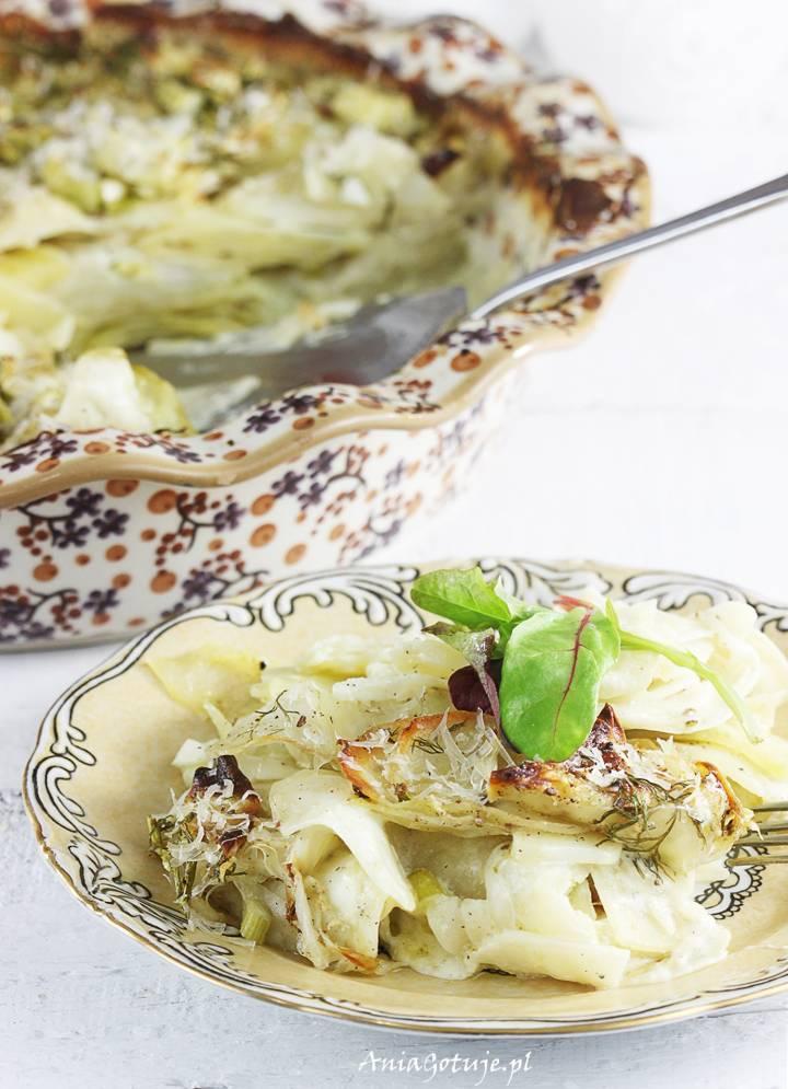 Ziemniaki au gratin z fenkułem, 1