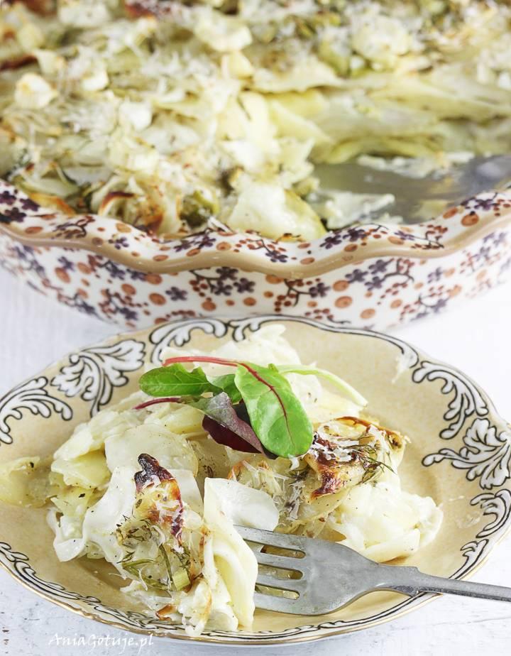 Ziemniaki au gratin z fenkułem, 2