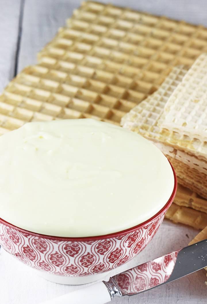 Domowe wafle śmietankowe, 1