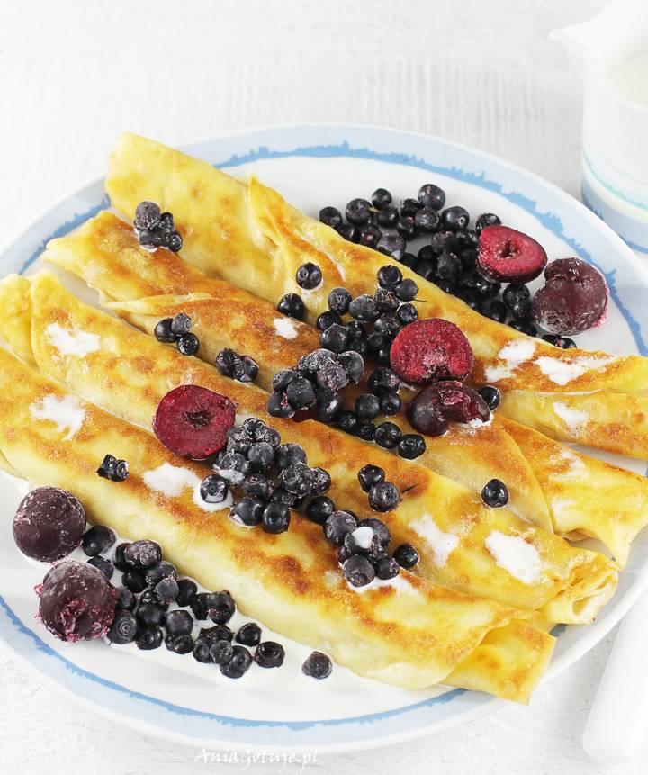 Naleśniki z serem i owocami, 4