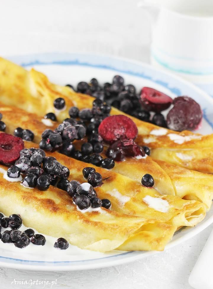 Naleśniki z serem i owocami, 5