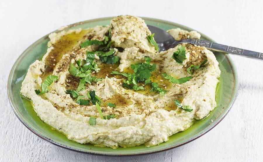 Hummus z ciecierzycy z puszki