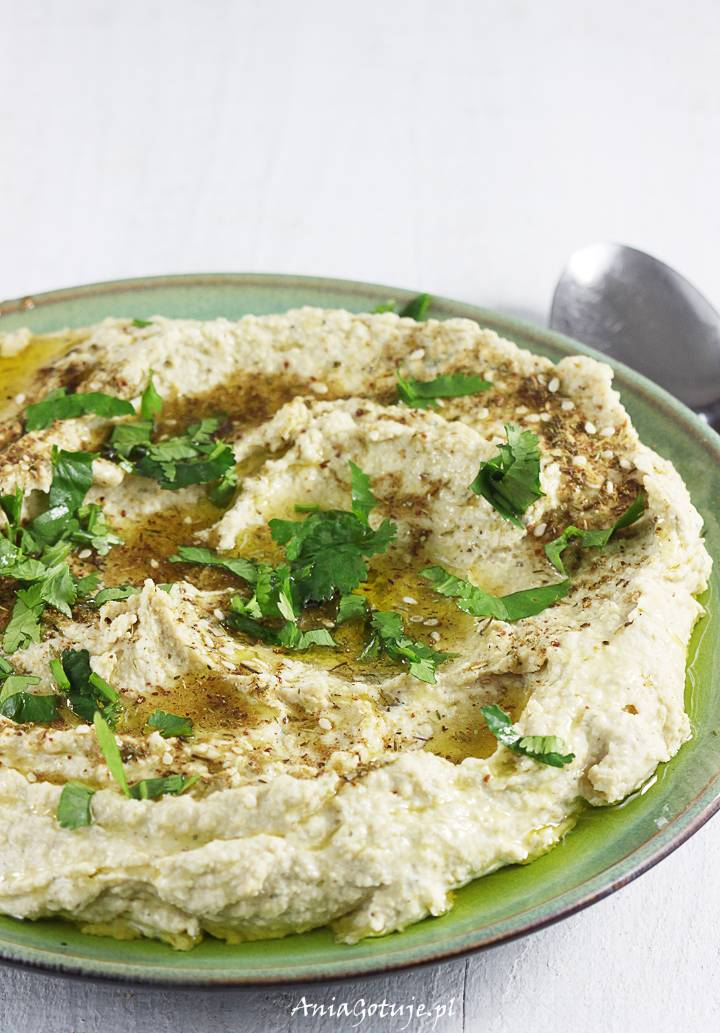 Hummus z ciecierzycy z puszki, 1