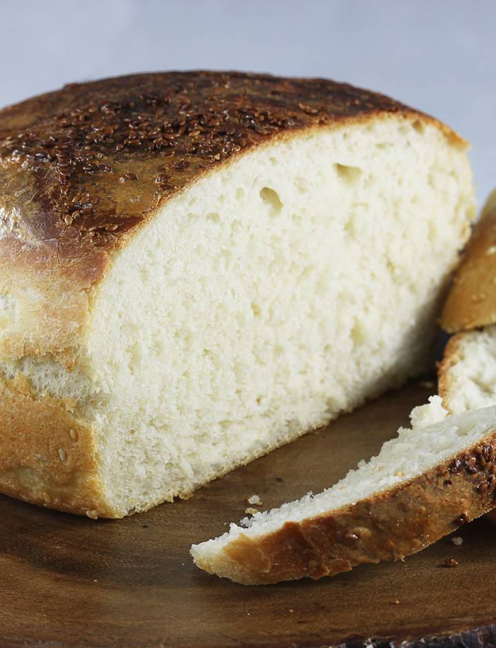 Prosty chleb pszenny na drożdżach, 2