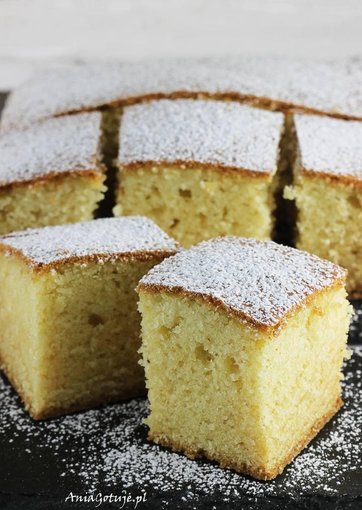 Ciasto z serkiem homogenizowanym pieczone, 1