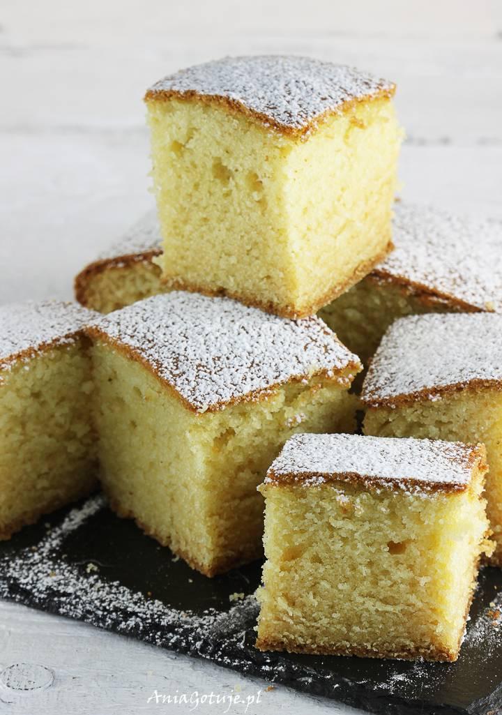 Ciasto z serkiem homogenizowanym pieczone, 2