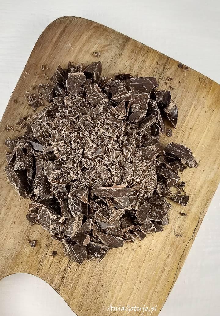 Kruche ciastka maślane z czekoladą, 2