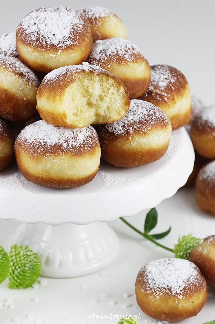 Mini pączki drożdżowe tradycyjne, 7
