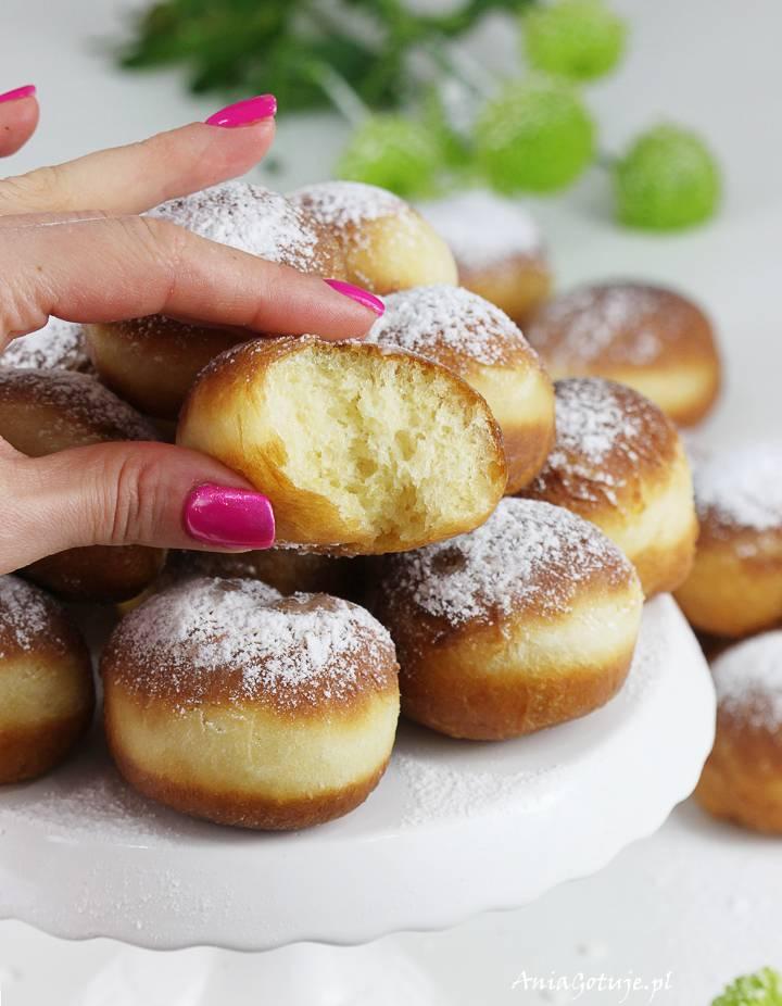 Mini pączki drożdżowe tradycyjne, 8