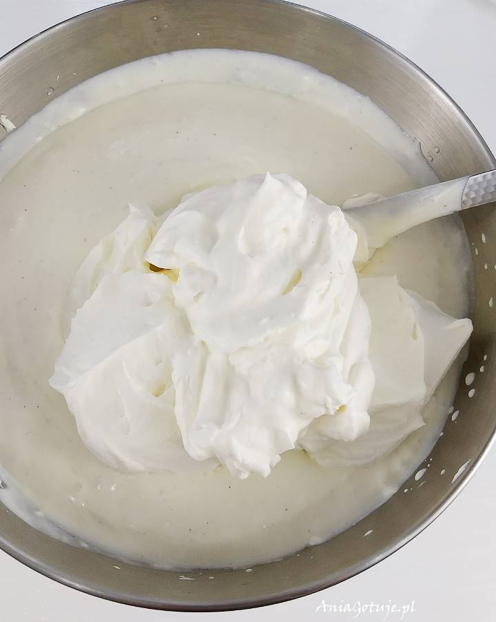 Sernik na zimno z białą czekoladą i truskawkami, 7