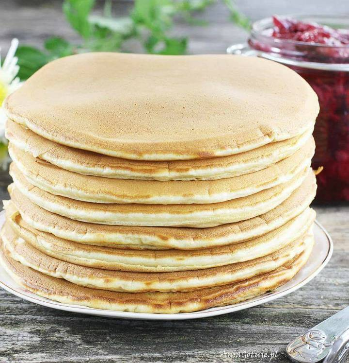 Pancakes waniliowy puch, 3