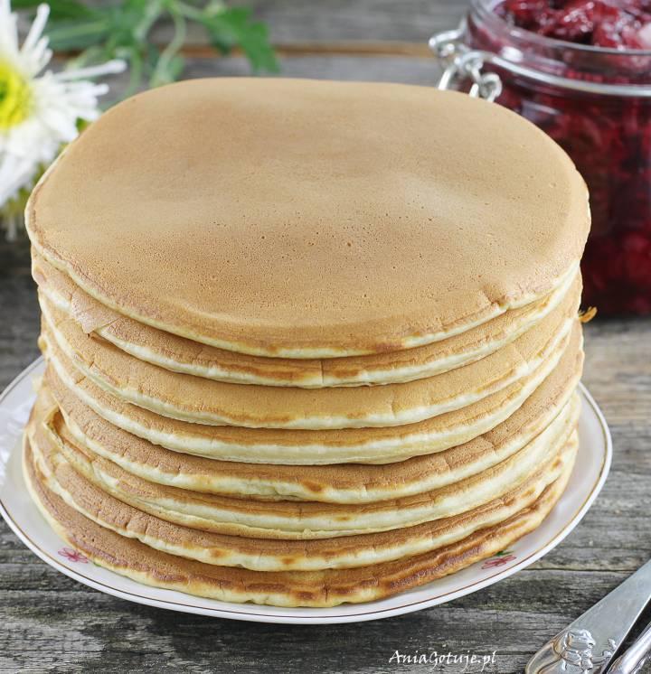 Pancakes śniadaniowe, 1
