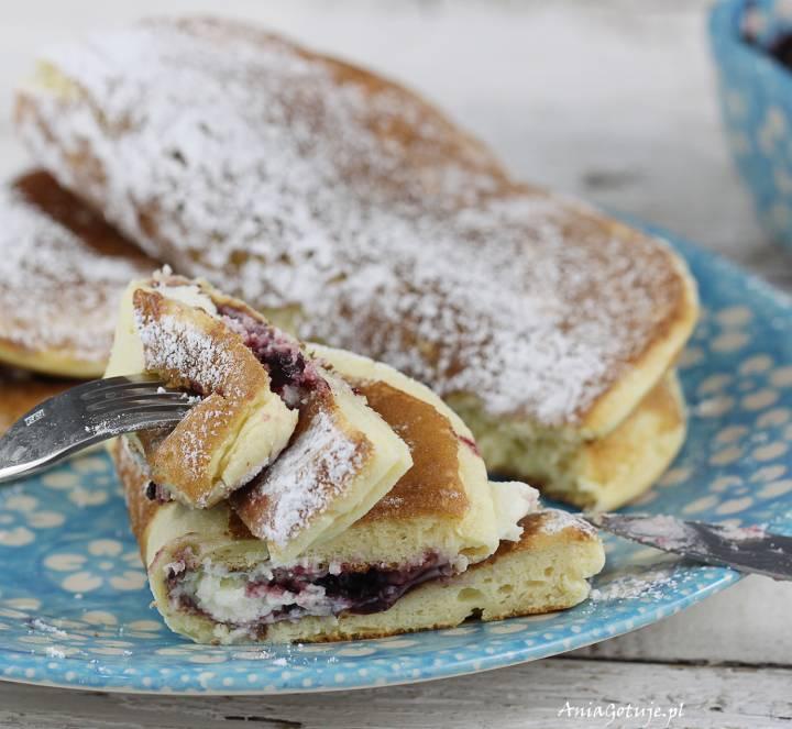 Pancakes jogurtowe chmurki, 2