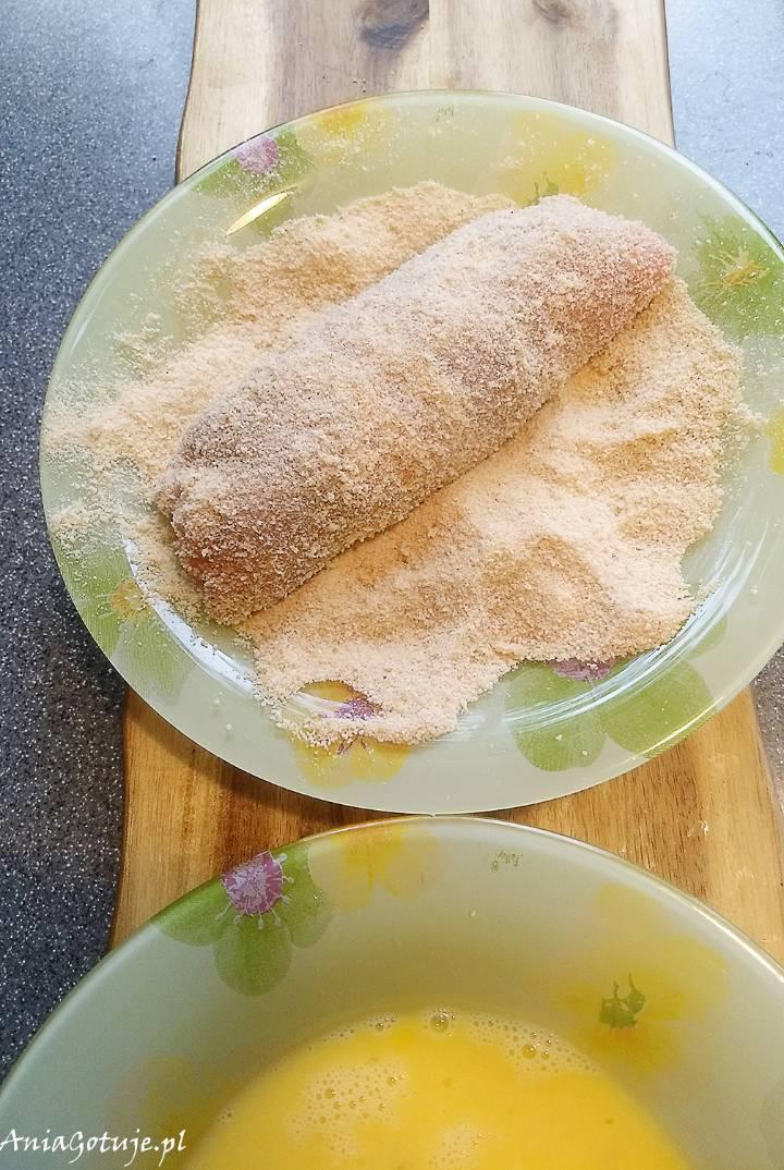 Roladki schabowe z serem i szpinakiem, 10