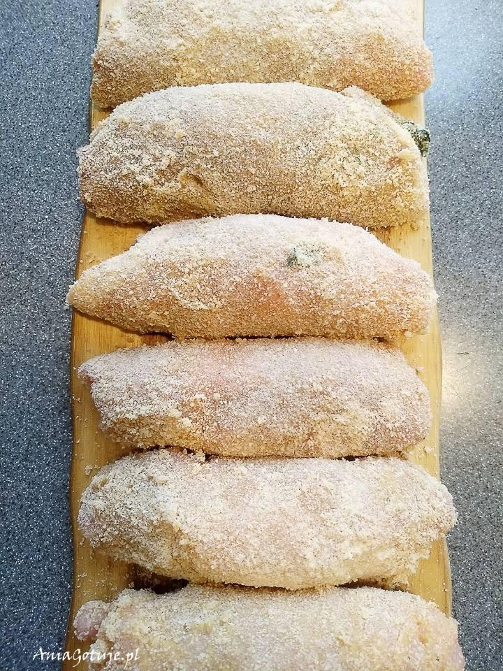 Roladki schabowe z serem i szpinakiem, 11