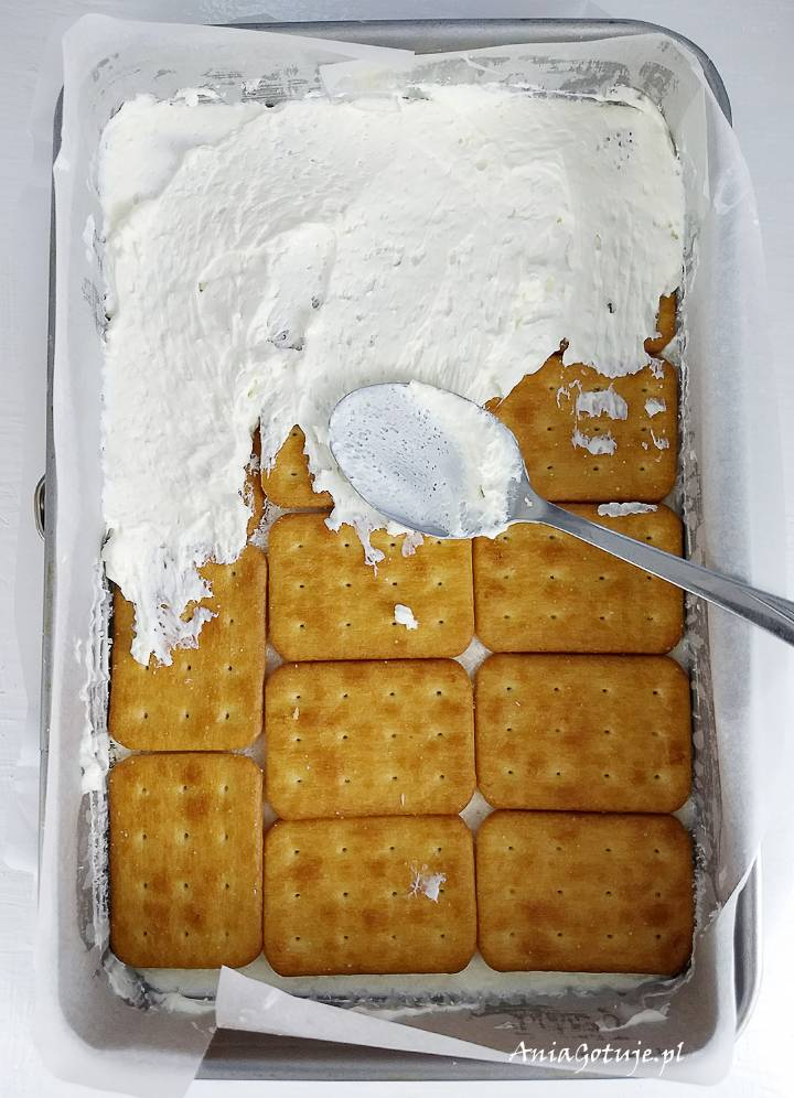 Proste ciasto rafaello bez pieczenia, 6