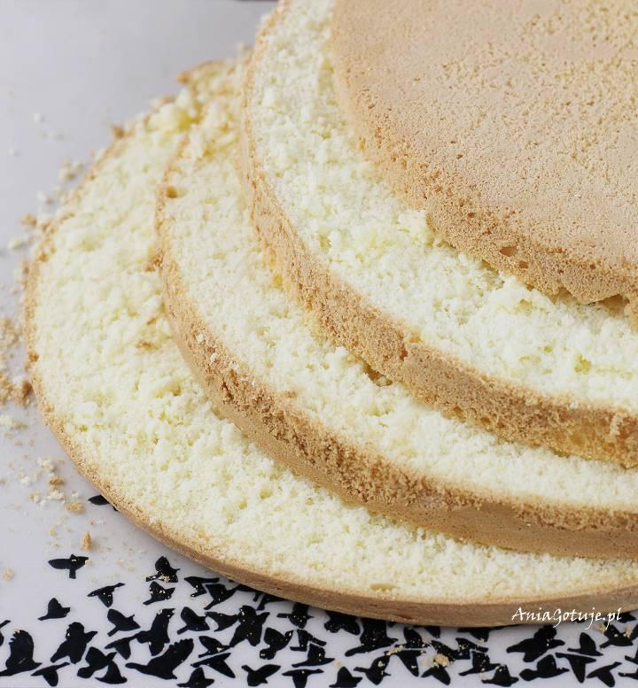Uniwersalny biszkopt do tortów, 1