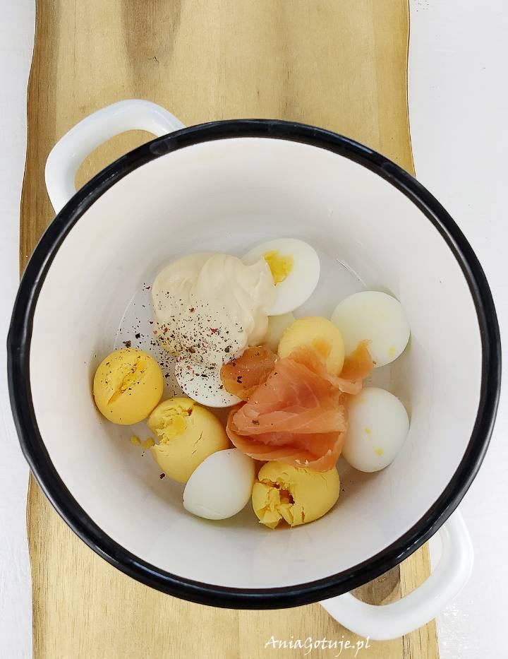 Jajka faszerowane wielkanocne, 4