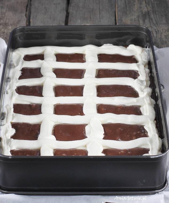 Ciasto poduszkowiec sernikobrownie , 3