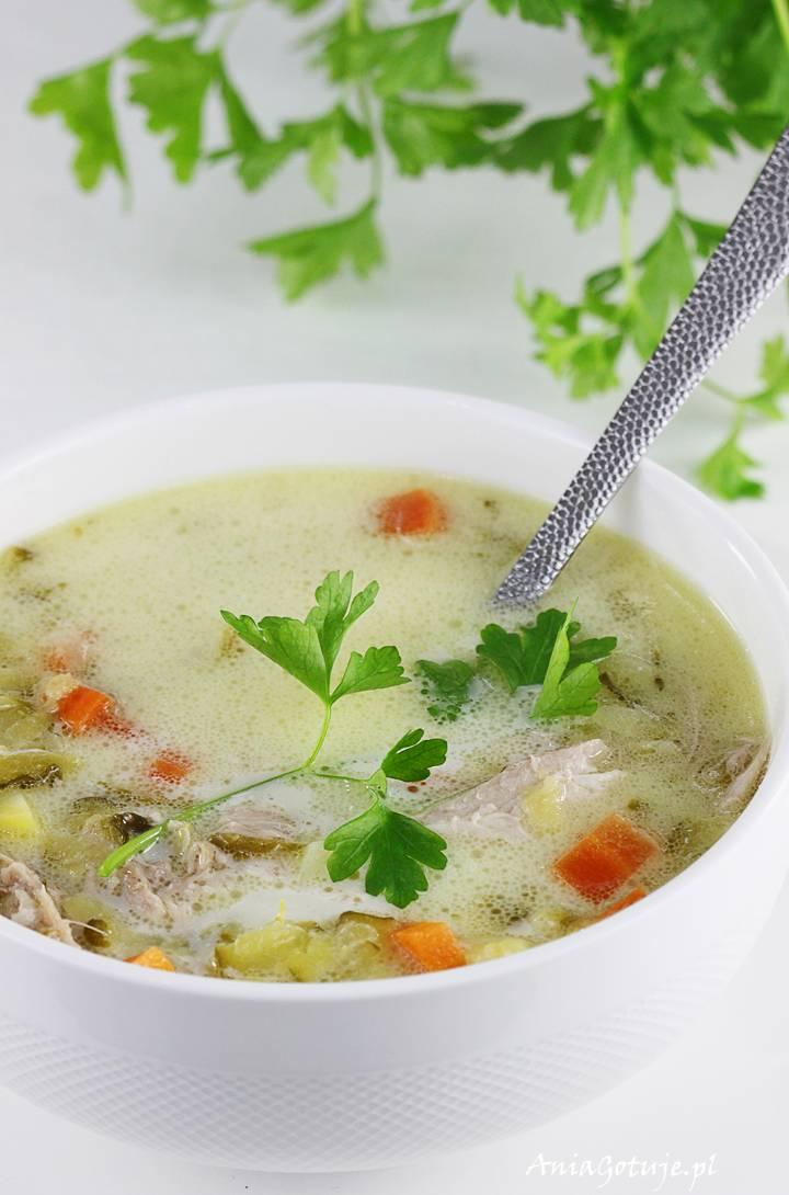 Zupa ogórkowa na rosole, 11
