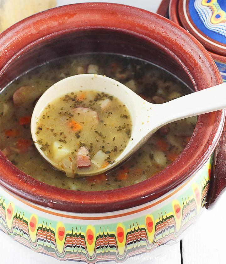Zupa ogórkowa na rosole, 12