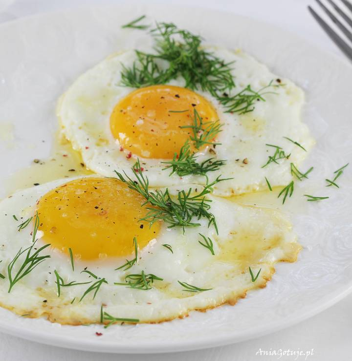 Jak zrobić jajko sadzone , 1