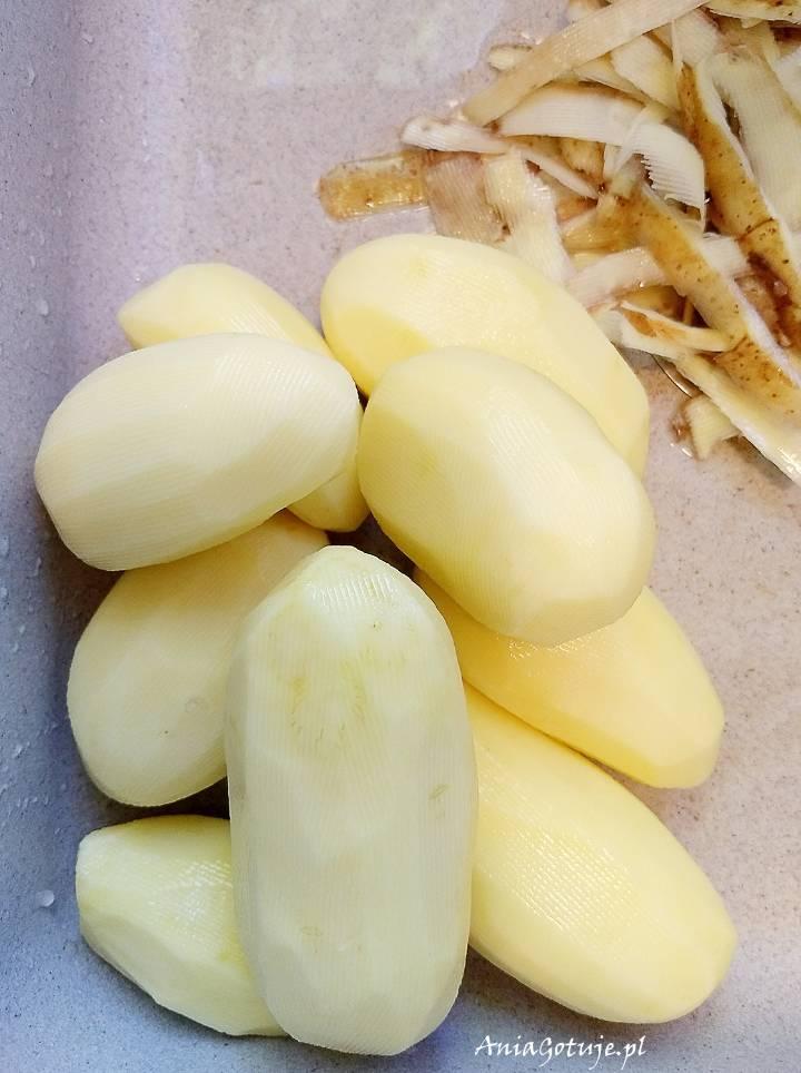 Botwina pieczona z ziemniakami i fetą, 3