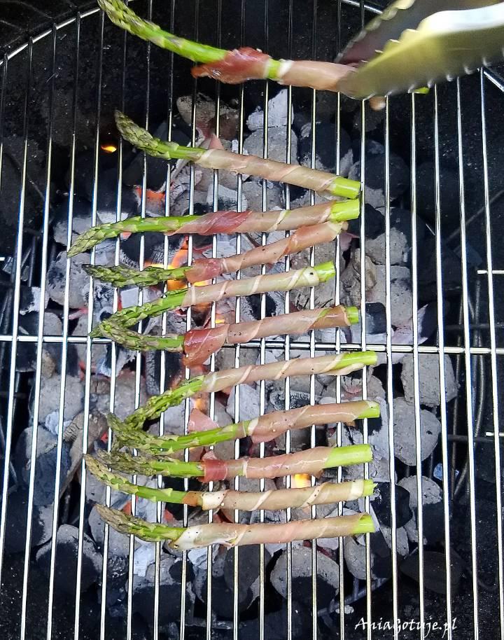 Szparagi z grilla, 6