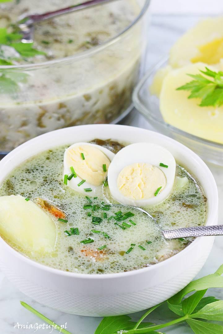 Zupa szczawiowa, 10
