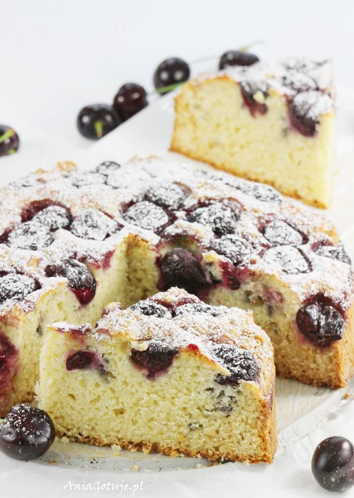 Ciasto z czereśniami, 1
