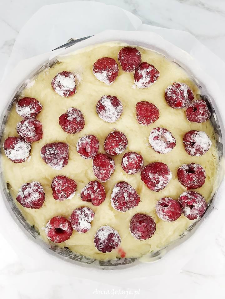 Ciasto z malinami, 8