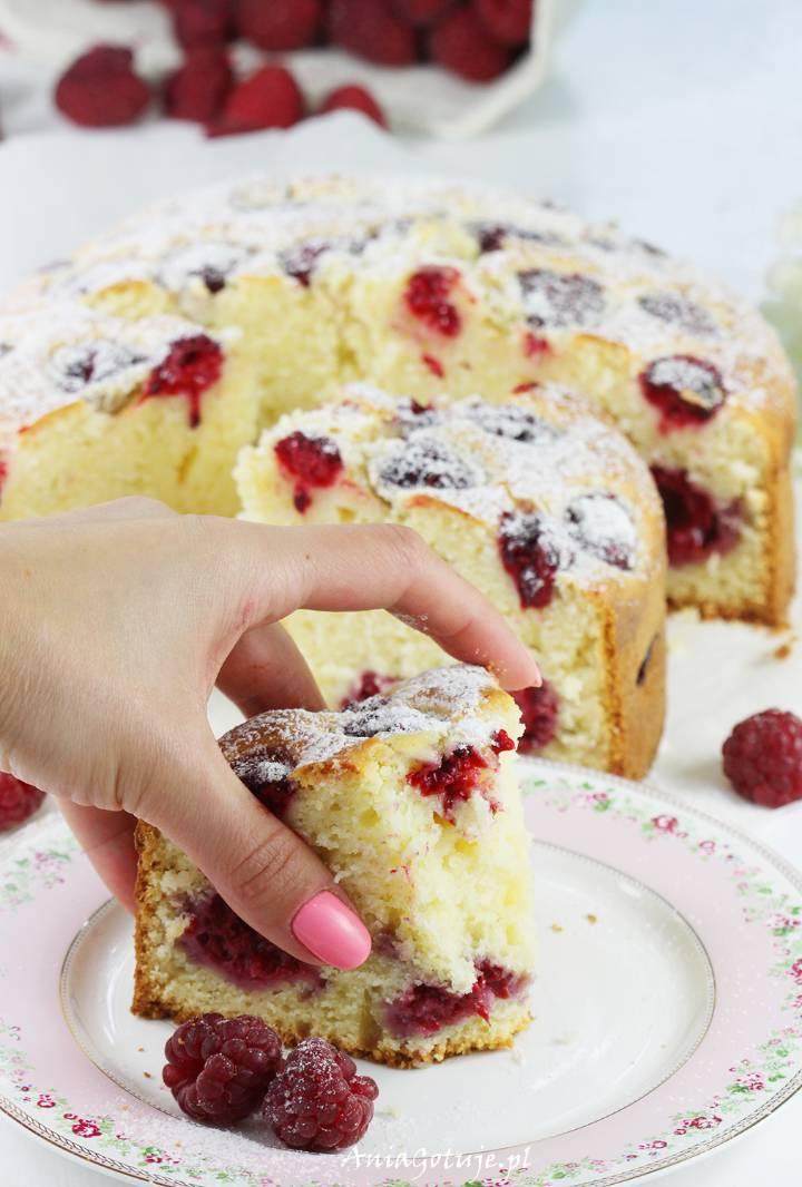 Ciasto z malinami, 10