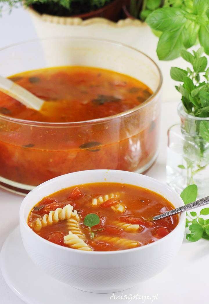 Zupa pomidorowa ze świeżych pomidorów, 1