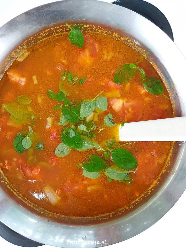 Zupa pomidorowa ze świeżych pomidorów, 7