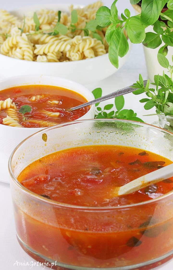 Zupa pomidorowa ze świeżych pomidorów, 8