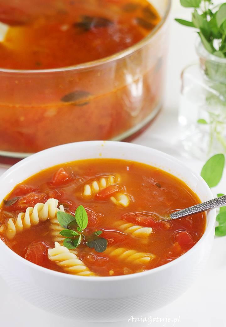 Zupa pomidorowa ze świeżych pomidorów, 9