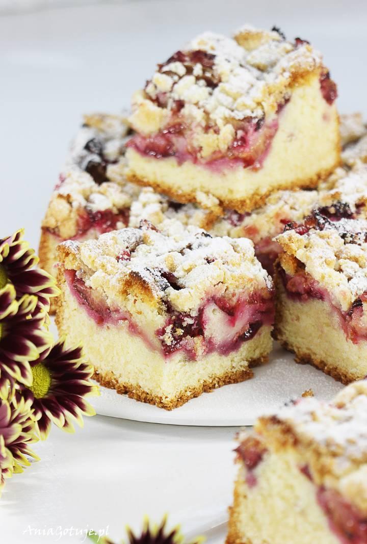Ciasto ze śliwkami i kruszonką , 10