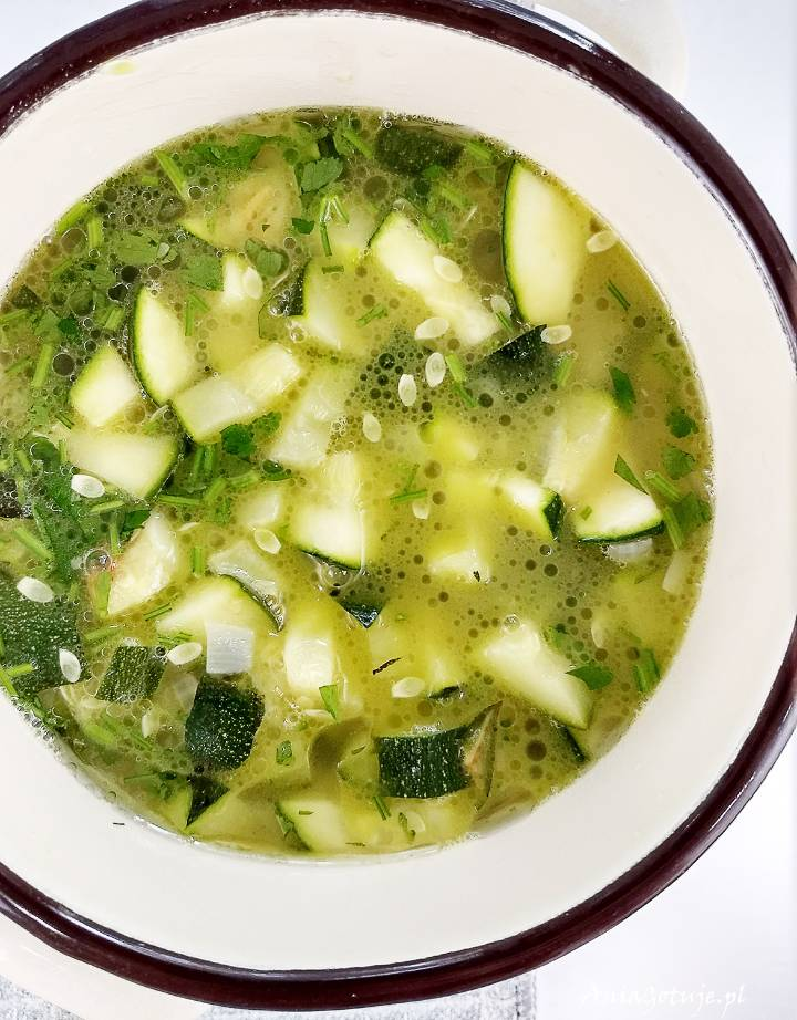 Zupa z cukinii, 6